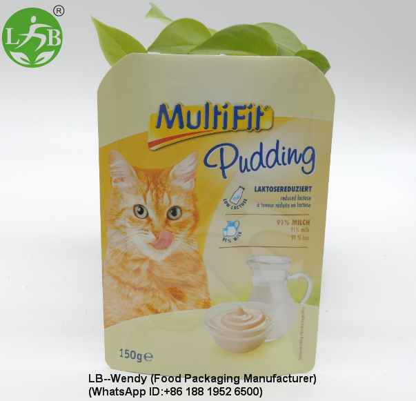 Retort pouch for Cats food