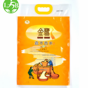 With handle rice Bags