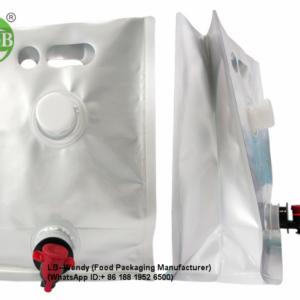 Aluminum Foil Flat Spout Liquid Pouches
